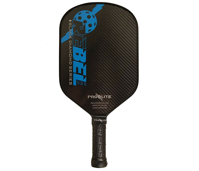 ProLite Rebel Pro Pickleball Paddle(Black/Blue)