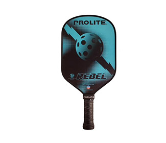 ProLite Rebel Powerspin Pickleball Paddle (Blue)