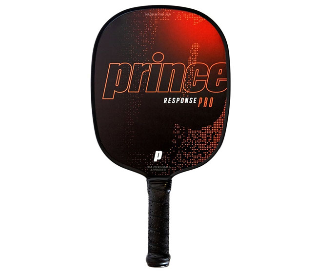 Prince Response Pro Standard Grip Pickleball Paddle (Red)