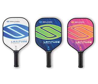 Selkirk Latitude Widebody Pickleball Paddle