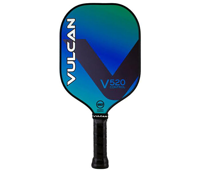 Vulcan V520 Pickleball Paddle (Fiji Blue)