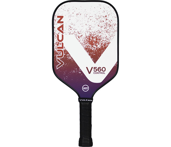 Vulcan V560 Control Pickleball Paddle (Lava)