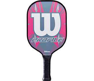 Wilson Profile Pickleball Paddle (Pink)