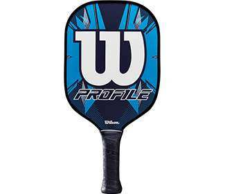 Wilson Profile Pickleball Paddle (Blue)