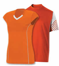 Shop Orange Tennis Team Uniforms