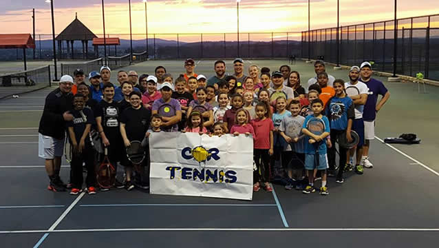 COR Tennis Group Photo